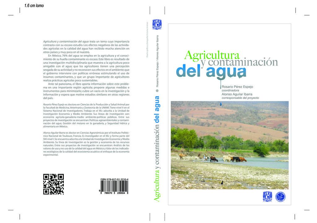 2012. Agricultura y contaminación del agua