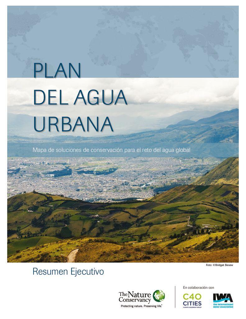 2015. Plan del agua urbana. TNC