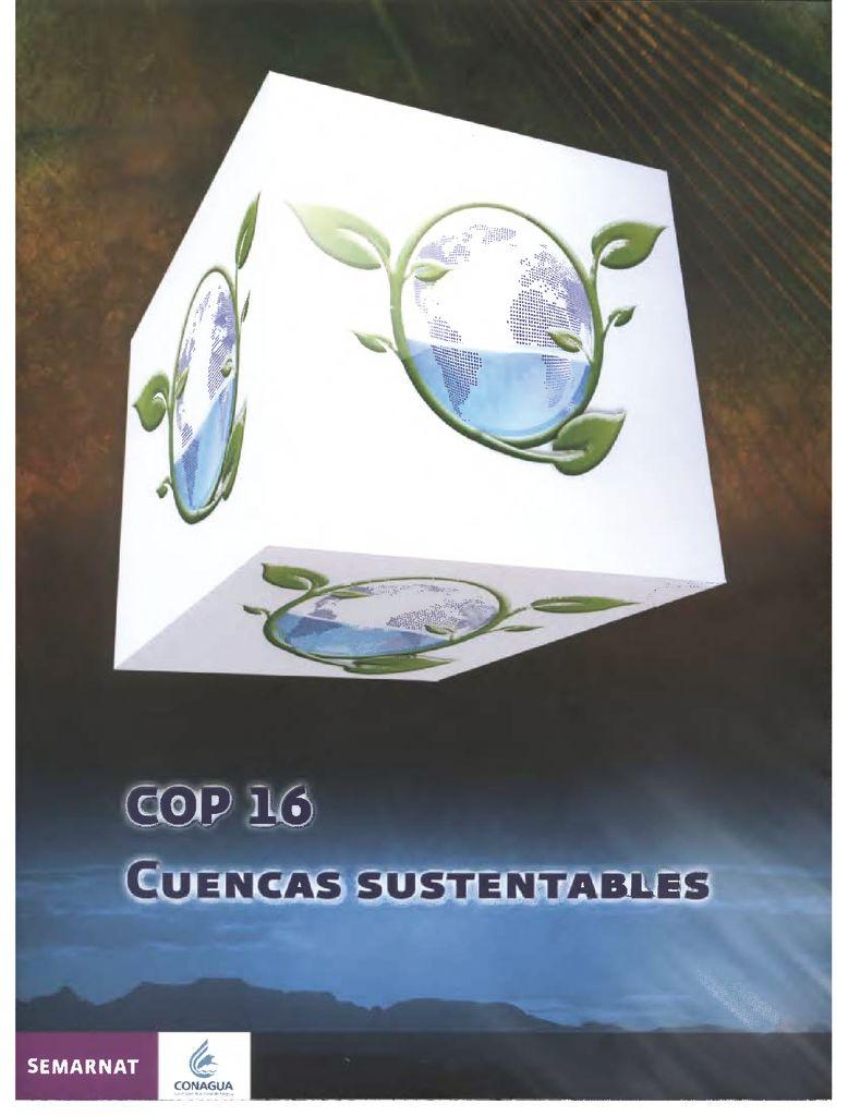 SF. Cuencas sustentables. SEMARNAT