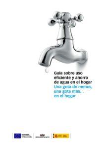 thumbnail of SF. Guía sobre el uso eficiente y ahorro de agua en el hogar. Unión Europea