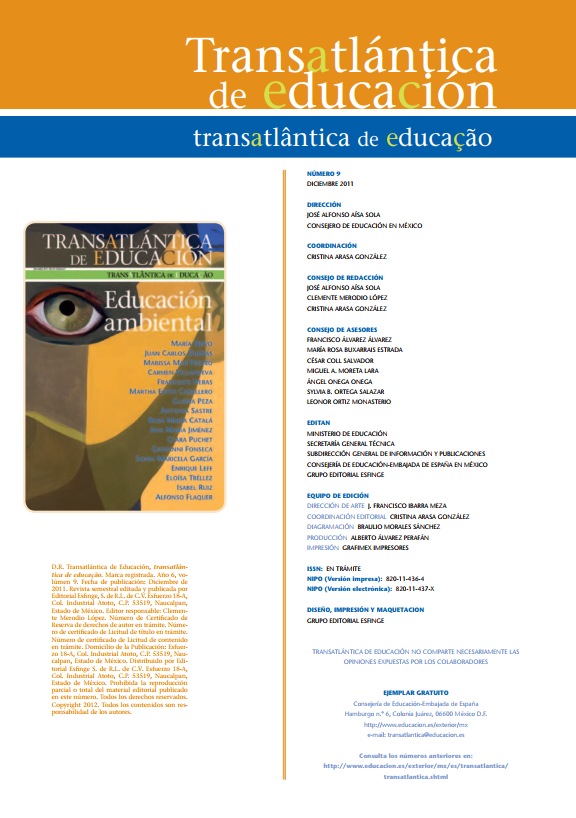2011. Transatlántica de Educación Ambiental