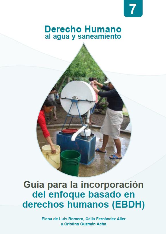 2013. Derecho humano al agua y saneamiento. Universidad Politécnica de Madrid